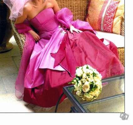 Robe de mariée Marion Lay d'occasion en soie sauvage