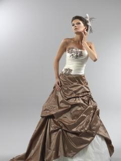 Robe de mariée pas cher Horizon Collection Bochet 2012  - Occasion du Mariage