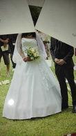 Robe de marié taille 44 tout avec jupon  - Occasion du Mariage