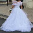 Robe de Mariée Bustier Perles et Cristal Sawrovki - Occasion du Mariage