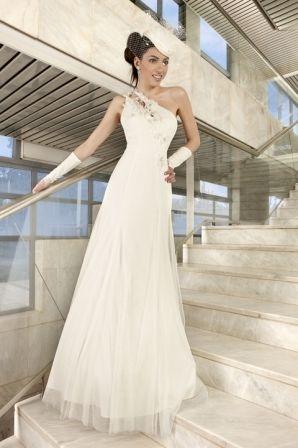 Robe de mariée Complicité Illi Tulle modèle Voltaire T42 d'occasion