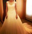 Robe de mariée avec jupon et voile - Occasion du Mariage