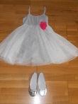 tenue ceremonie fille + chaussures - Occasion du Mariage