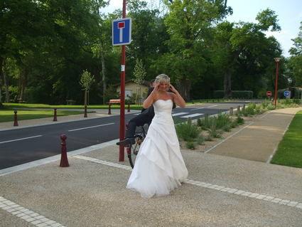 Magnifique robe de mariage Bustier collection 2013 d'occasion