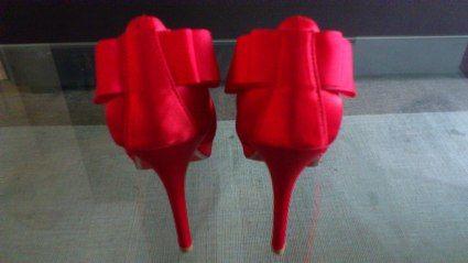 Escarpins de mariée rouges - Occasion du Mariage