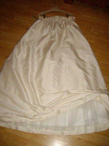 Jupe de mariée en soie neuve Hithetro pour BHLDN - Occasion du Mariage