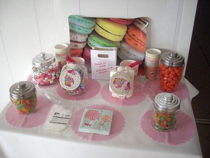 Gobelets pour candy bar idéal mariage