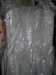Robe de mariee medecis d'occasion avec traine, taille 36/38 perlée