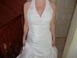 Robe de mariée neuve et étole neuve