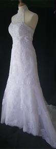 Robe de mariée sirène en dentelle pas cher - Occasion du mariage