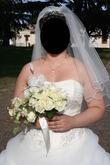 Robe de mariée ivoire+accessoires taille 40/42 - Occasion du Mariage