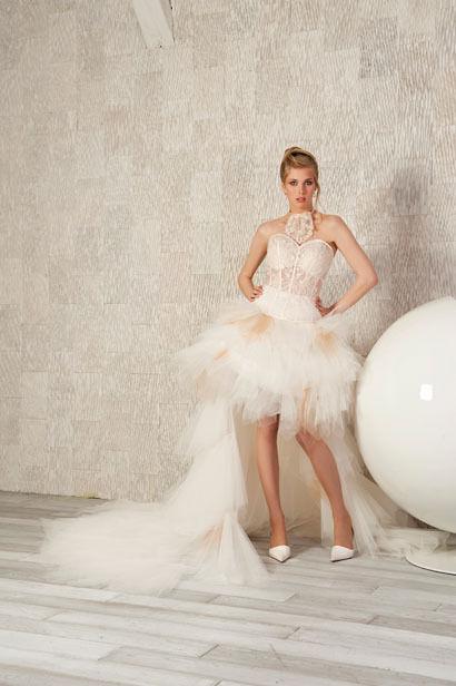 Robe de mariée pas cher Dany pour Alain modèle Arpege 2012 - Occasion du mariage
