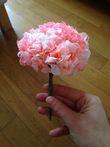 Fleurs en papier/hortensia pour décoration table ou chaise - Occasion du Mariage
