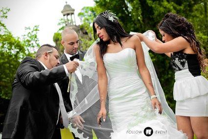 Robe de Mariée Sirène créateur Elie Saab d'occasion