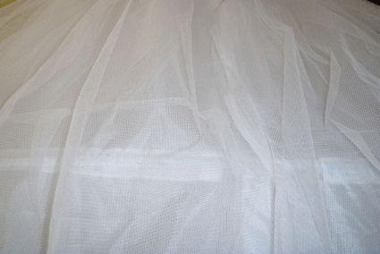 Jupon de mariage Blanc Robe Mariée  en crinoline