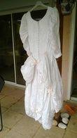 Robe de mariée satin broché - Occasion du Mariage