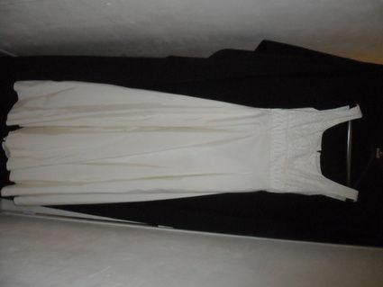 Ensemble robe de mariée et accessoires pas cher Bretagne 2012 - Occasion du Mariage