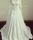 Robe de mariée blanche dentelle satin  - Occasion du Mariage