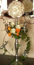 Location housse de chaise-vases-chandeliers / décoration de salle - Occasion du Mariage
