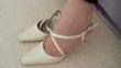 Chaussures de mariage ivoires taille 36 d'occasion - Indre et Loire
