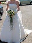 Robe ivoire Lily tulle de Complicité+ jupon+ gants+ voile - Occasion du Mariage