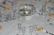 Décoration salle, table et accesoires de mariage d'occasion pour 2013