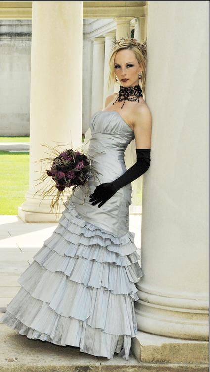 Robe de mariée gris perle - Pas de Calais