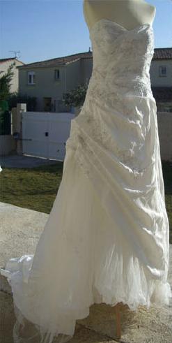 Robe de mariée Concept Mariage, les mariées d'Elodie discount - Occasion du Mariage