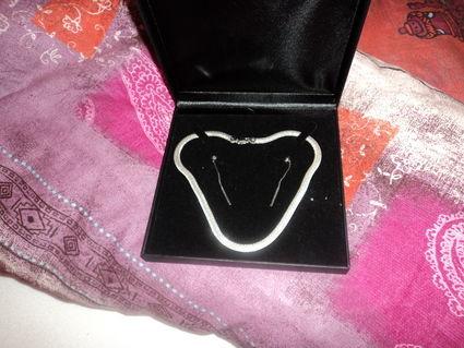 Bijoux de mariée d'occasion /  Parure en argent pas cher 2012 - Occasion du mariage