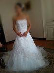 Robe de mariée avec Jupon, voile et Boléro  - Occasion du Mariage