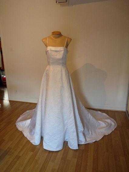 Superbe robe de mariée de marque David's Bridal pas cher - Occasion du Mariage