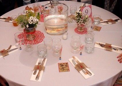 Centre de table guinguette moyens mod les marne haute - Deco table guinguette ...