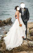 Robe de mariée luxe T38 unique avec traîne rétractable - Occasion du Mariage