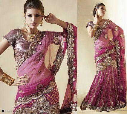 Location de cette robe de mariée Saree Sari - Occasion du Mariage