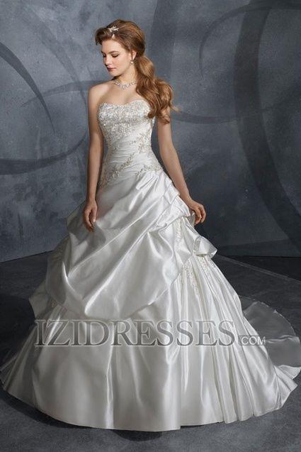 Robe de mariée neuf taille 52 d'occasion