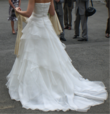 Robe de mariée Pronovias en soie T.38 + jupon - Occasion du Mariage