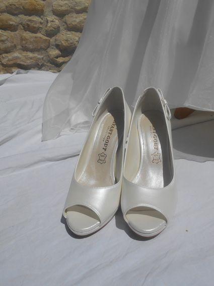 Chaussure de mariée - Charente Maritime