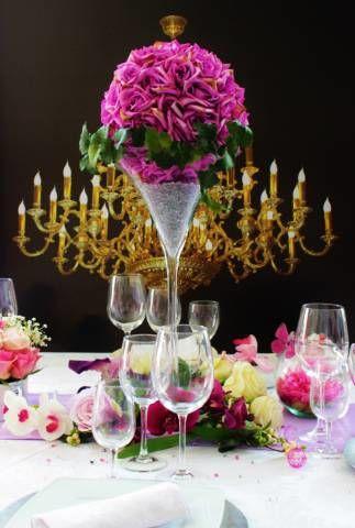 Location vases martini H70 cm  - Val de Marne
