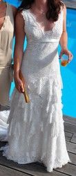 Robe cymbeline dentelles T36 - Occasion du Mariage