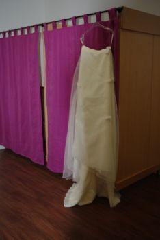 Robe de mariée pas cher en 2 parties Alsace 2012 Occasion du mariage