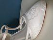 Chaussure mariage dentelle bout pointu et brides  - Occasion du Mariage