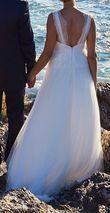 Robe mariée bohème T38 - Juliette mariée - Occasion du Mariage