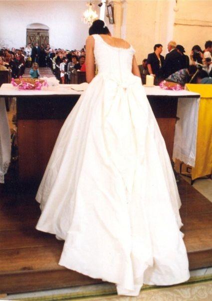 robe mariée T40 - Aube