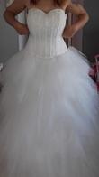 Robe de mariée mouchoir de tulle - Occasion du Mariage