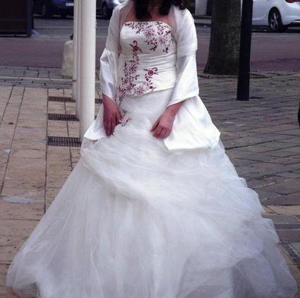 Robe de mariée Tomy Mariage collection 2012 pas cher - Occasion du Mariage