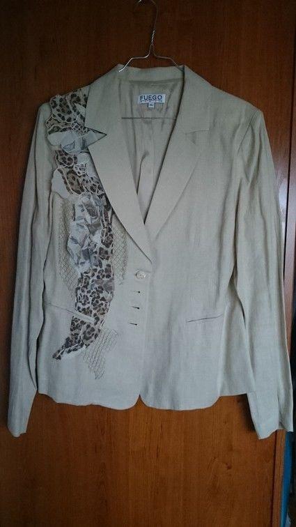 tailleur veste + jupe marque FUEGO Woman - Pas de Calais