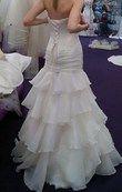 Robe de mariée neuve ivoire avec jupon, guêpière et collier - Occasion du Mariage