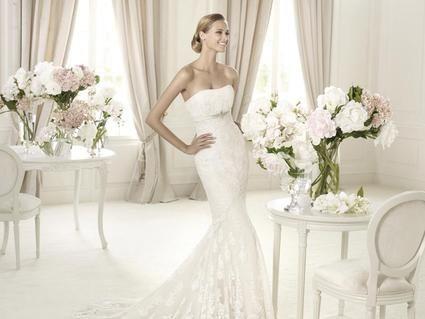 Location robe de mariee Pronovias Balira 2013 en blanc naturel