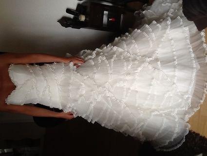 Robe de mariée Pronovias neuve  modèle Pampa 2013