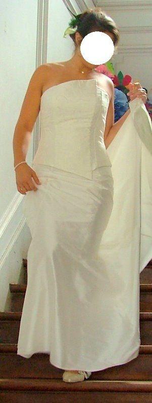 Robe de mariée bustier pas cher d'occasion 2012 - Centre - Loiret - Occasion du Mariage